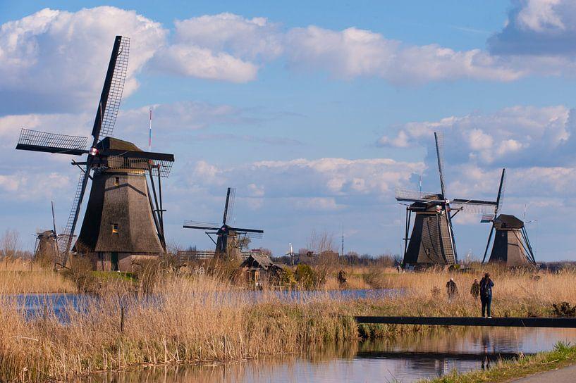 Windmolens.(Windmills) van Brian Morgan