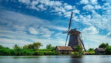 UNESCO-Weltkulturerbe Windmühlen Kinderijk von Bart cocquart