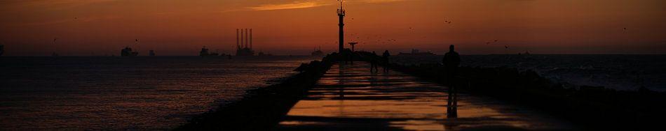 Pier at Hoek van Holland