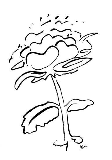 FlowerTalk 2 van Eva van den Hamsvoort
