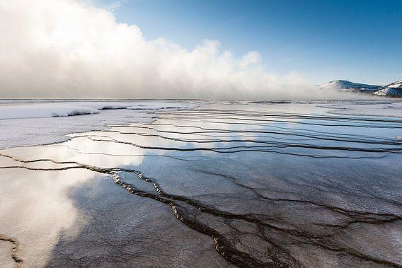 Landschap in Yellowstone Nationaal Park