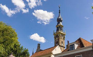 Turm-Rathaus Veere 2 von Percy's fotografie