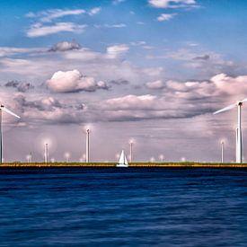 Moderne niederländische Landschaft von Joram Janssen