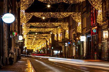 Utrechtsestraat, Amsterdam tijdens Amsterdam Light Festival van Stephan Neven
