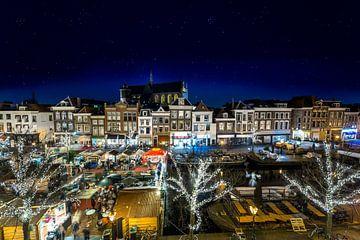 Drijvende kerstmarkt in Leiden von Ruurd Dankloff