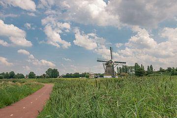Landschap met molen van Arya Baban