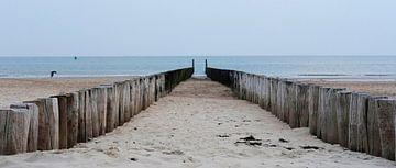 De zee in perpectief van Karin vanBijleveltFotografie