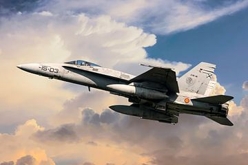 F/A-18 Hornet sur