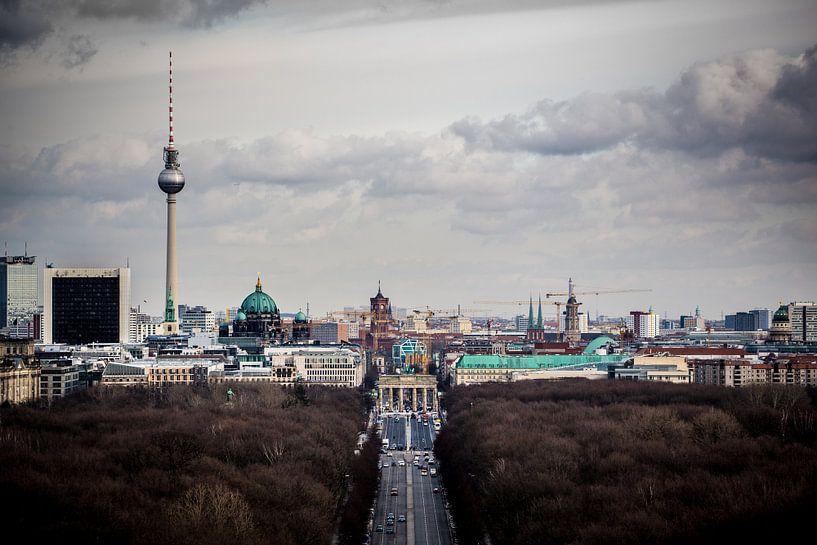 Oost Berlijn van Leon Weggelaar