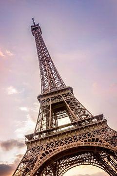 PARIS Eiffelturm zum Sonnenuntergang von Melanie Viola