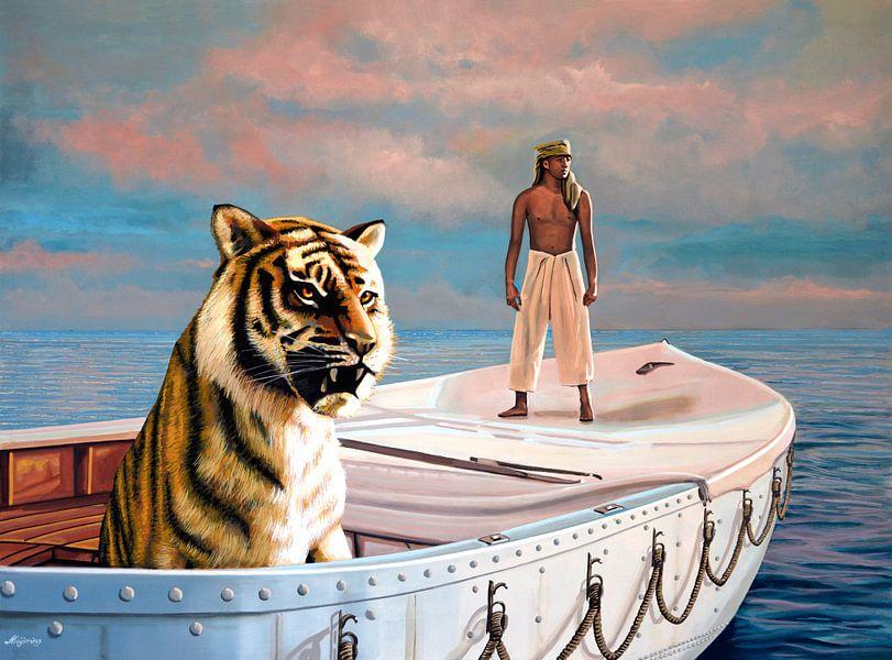 Life Of Pi Schilderij van Paul Meijering