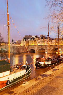 Pont Neuf in de ochtend, Parijs van Markus Lange