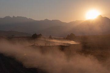 Zandweg Drakensbergen von Ri7Ver Photography