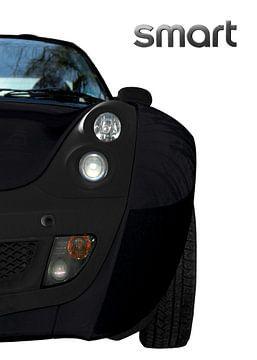 SMART Roadster in zwart & wit van aRi F. Huber