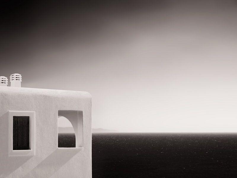 Greece (Black and White) van Alexander Voss