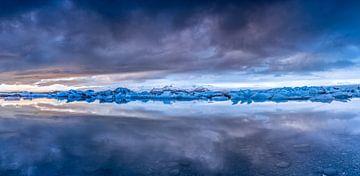 Panorama Jokulsarlon von Tom Opdebeeck