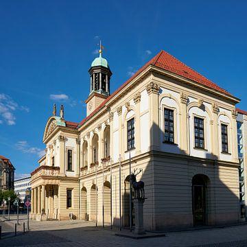 Historisches Rathaus auf dem Alten Markt in Magdeburg von Heiko Kueverling