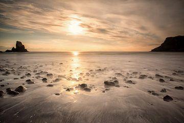 Talisker Bucht - Ilse von Skye - Schottland von Remco Siero