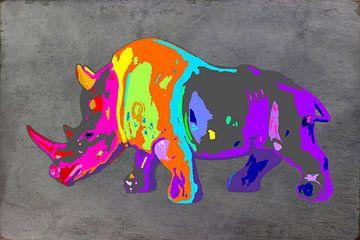 Rhino van Damien Vincent