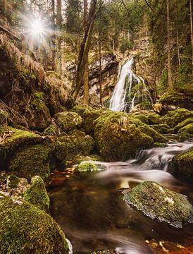 Wasserfall in Golling von sebastian Dietrich
