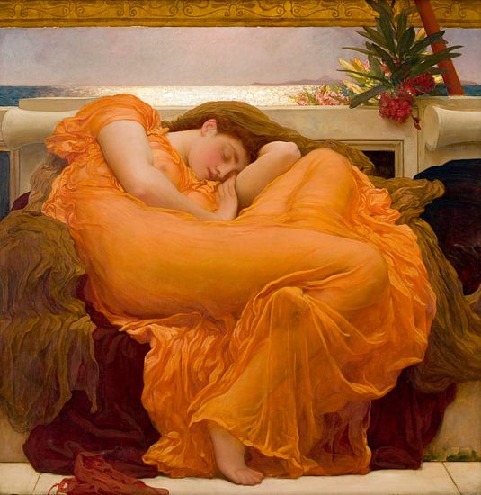 Vlammende Juno, Frederic Leighton