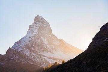 Matterhorn in Zwitserland van Werner Dieterich