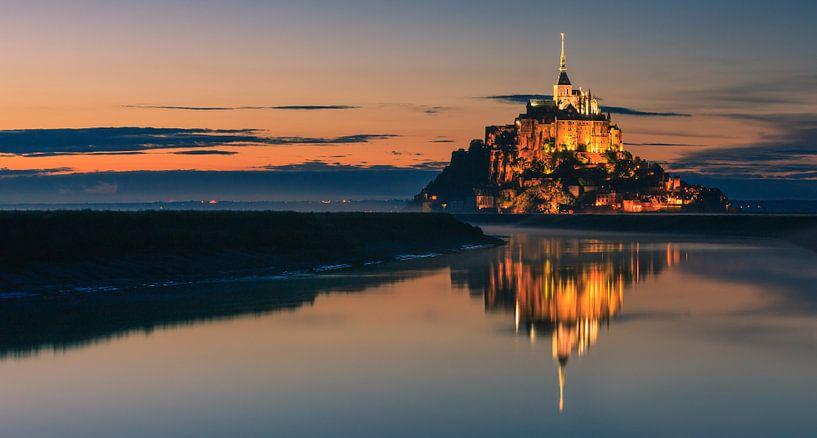Mont Saint-Michel - Normandy - France van Henk Meijer Photography