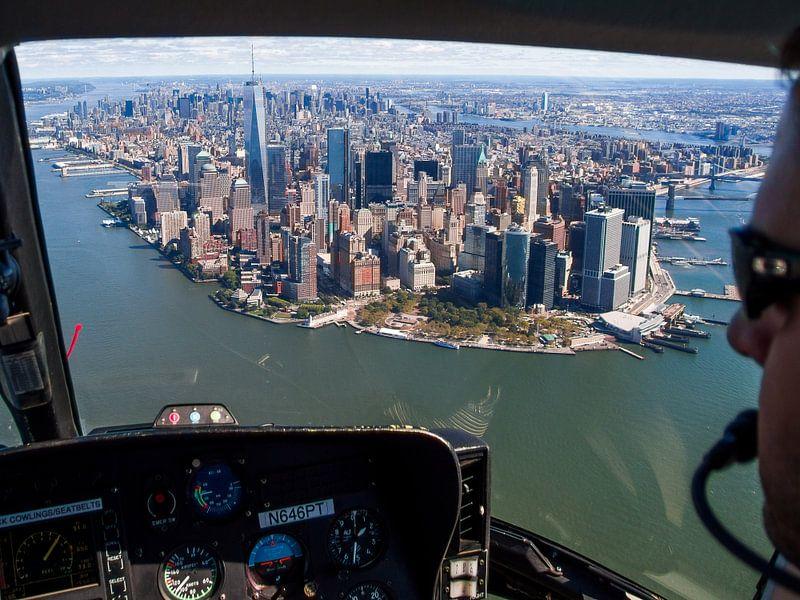 Manhattan Island van Bob de Bruin