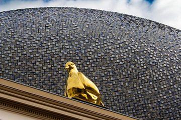Taube in Gold von Michiel Zeeman