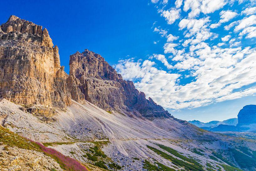 De Drei Zinnen in de Dolomieten in Italië - 3 van Tux Photography