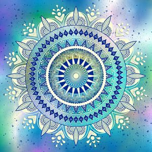 Mandalabloem van Shirley Hoekstra