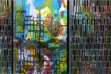 AMSTERDAM BY NIGHT van Marijke Mulder
