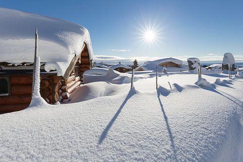 Sonnenaufgang in Norwegen von Rob Kints