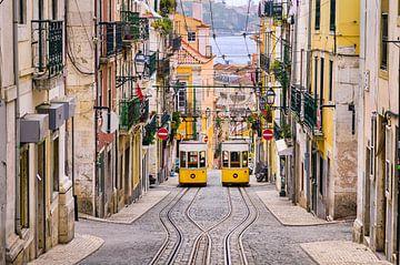 Straßen von Lissabon von Michael Abid