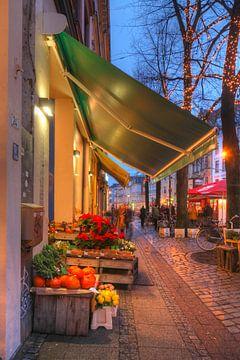 Schaufenster, Weihnachtsbeleuchtung, Abenddämmerung, Ostertorviertel, Viertel, Bremen, Deutschland von Torsten Krüger