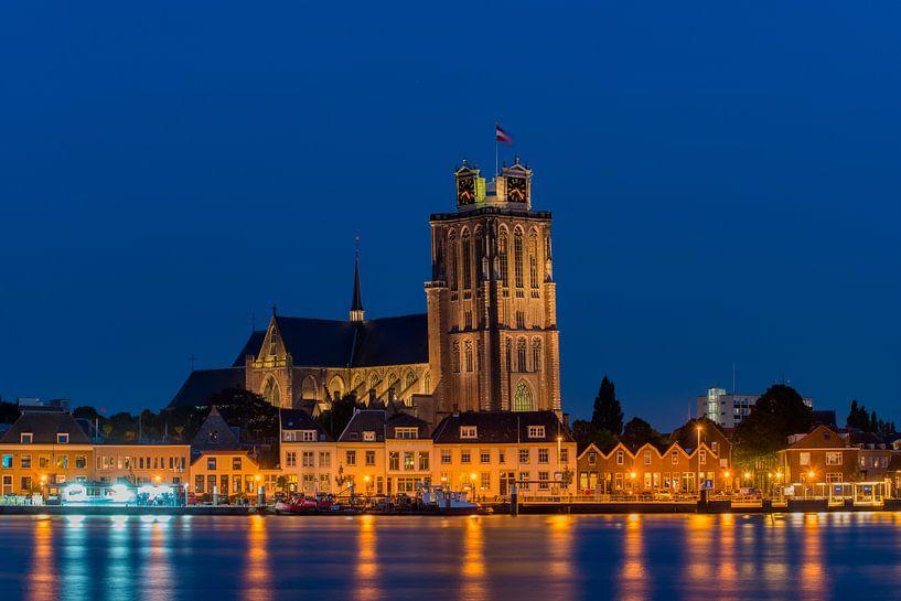 Zicht op Dordrecht van Bert Beckers