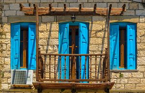 Balkon met deur en ramen van