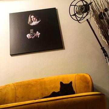 Klantfoto: Mies van Andrew Greening