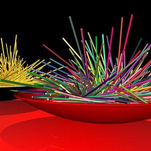 Lasst Spaghette um mich sein!