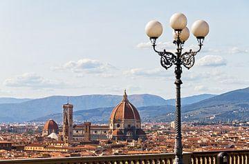 Florence skyline lantaarn sur Dennis van de Water
