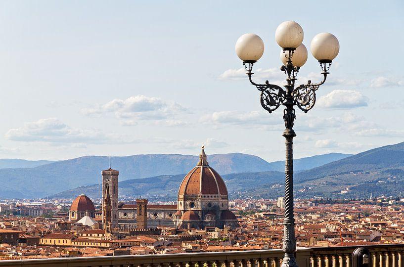 Florence skyline lantaarn van Dennis van de Water