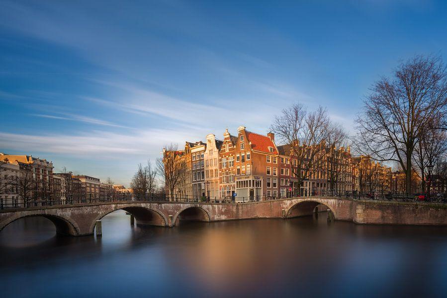 Keizersgracht Amsterdam II van Martijn Kort