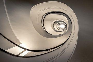Spiraal trap van Mario Calma