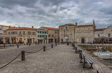 Innenhafen von Saint Martin de Ré, Frankreich von Maarten Hoek