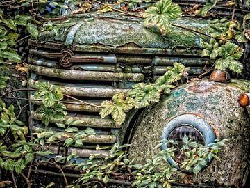 old German car van Liliane Buntinx