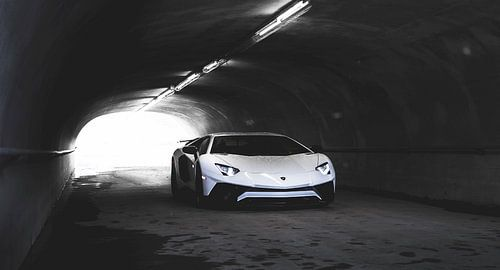 Lambo Aventador SV supercar