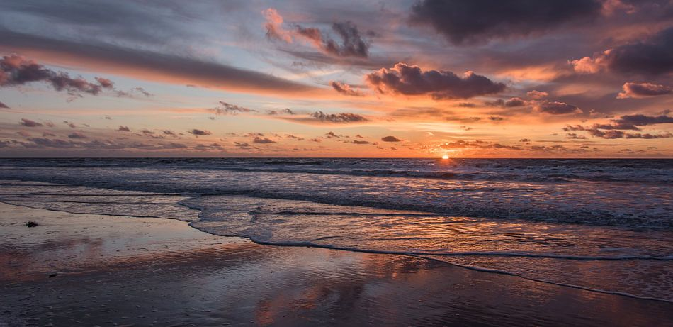 Zonsondergang van Alex Hiemstra