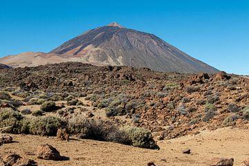 Teide-Vulkan auf Teneriffa von Aukelien Minnema