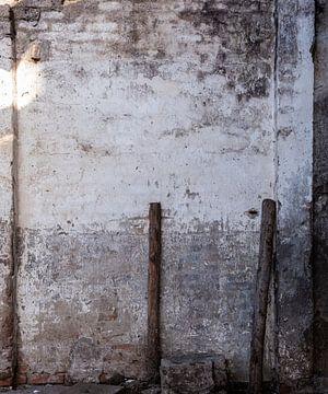 Muur met palen [industirële uitstraling] van Affect Fotografie