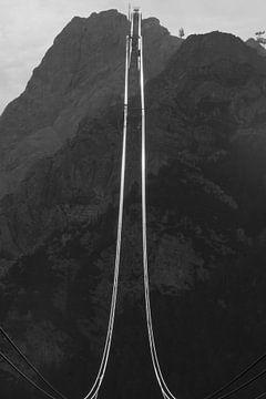 Zugspits berg bahn von Anne van IJs